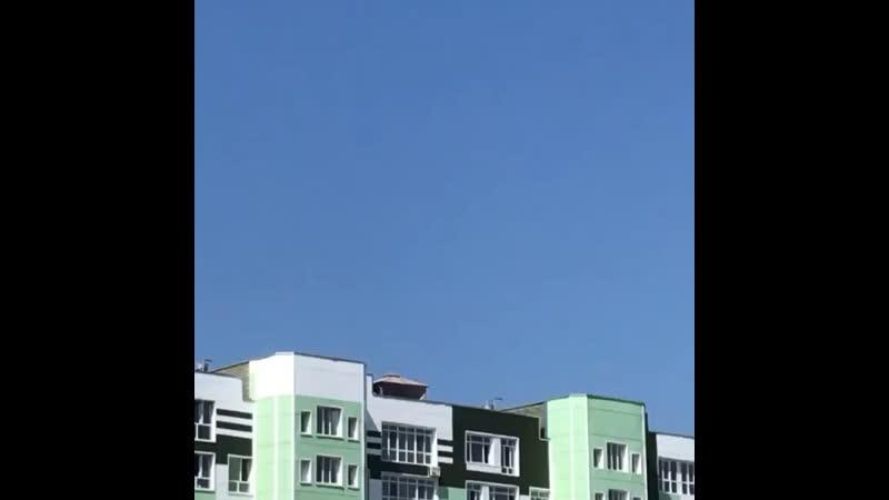 VIP зона на крыше многоэтажки в Сургуте
