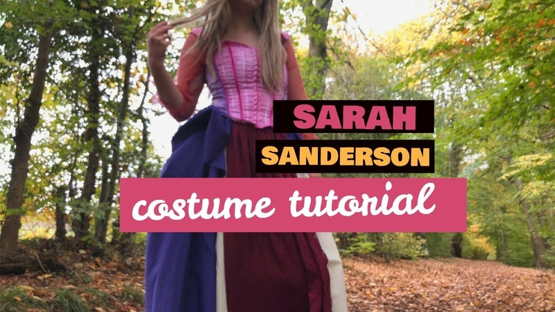 Sarah Sanderson Hocus Pocus Costume Tutorial HALLOWEEN COSPLAY