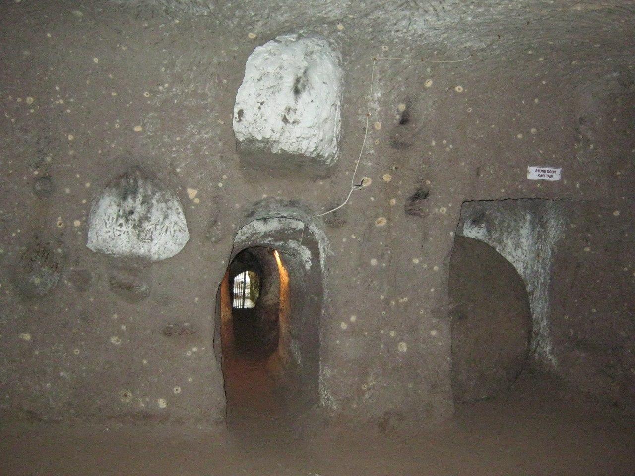 Подземный город Агирнас