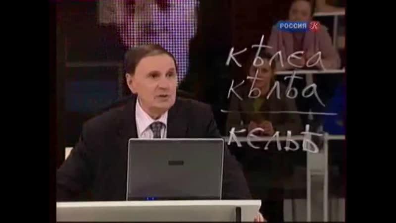 Андрей Зализняк Берестяные грамоты 2 я лекция ТК Культура