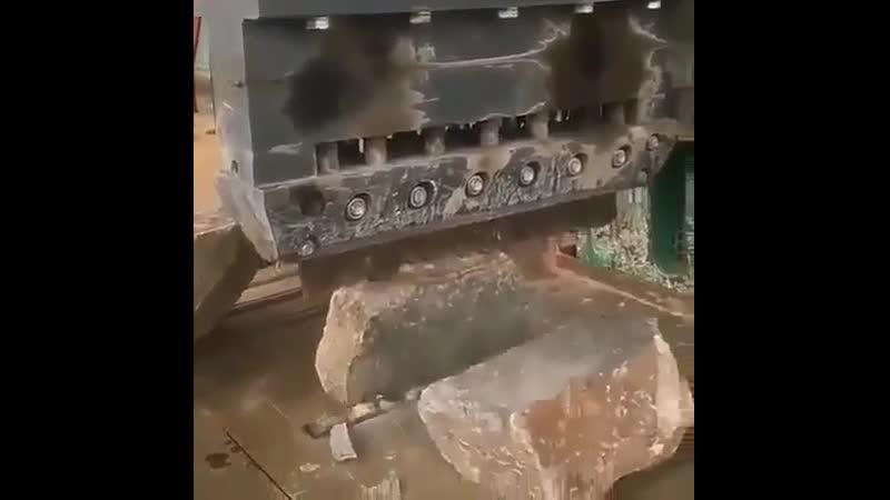 Станок для раскола камней