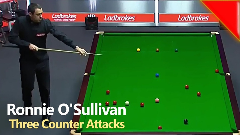 Ronnie O'Sullivan's Counterattacks against Milkins Yan Ding 2018 World Grand Prix Snooker