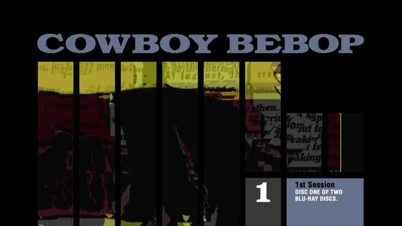 Cowboy Bebop MenuUK BDRemux H264 FLAC 1920X1080