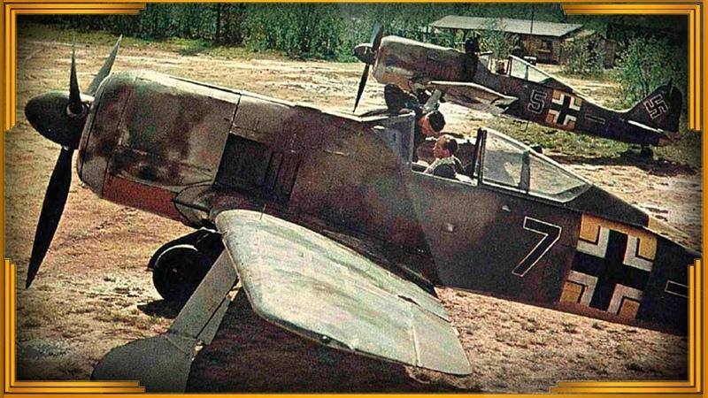 Боевое применение Фокке Вульф FW 190