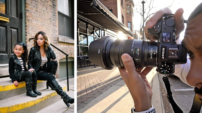 NIkon Z6 NEW 24-70 2.8 S | Mother Daughter Photoshoot.
