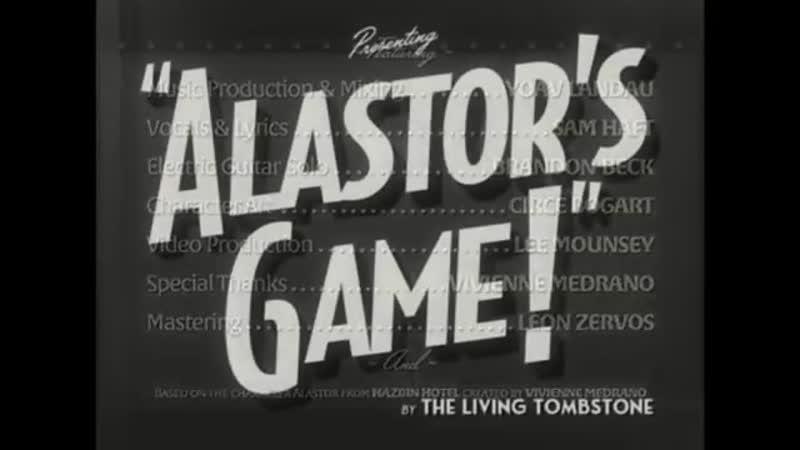 The Living Tombstone Alastors Game Hazbin Hotel Song