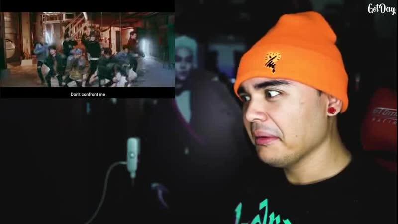 Реакция Джереми на клип Stray Kids Grrr и Young wings русс саб