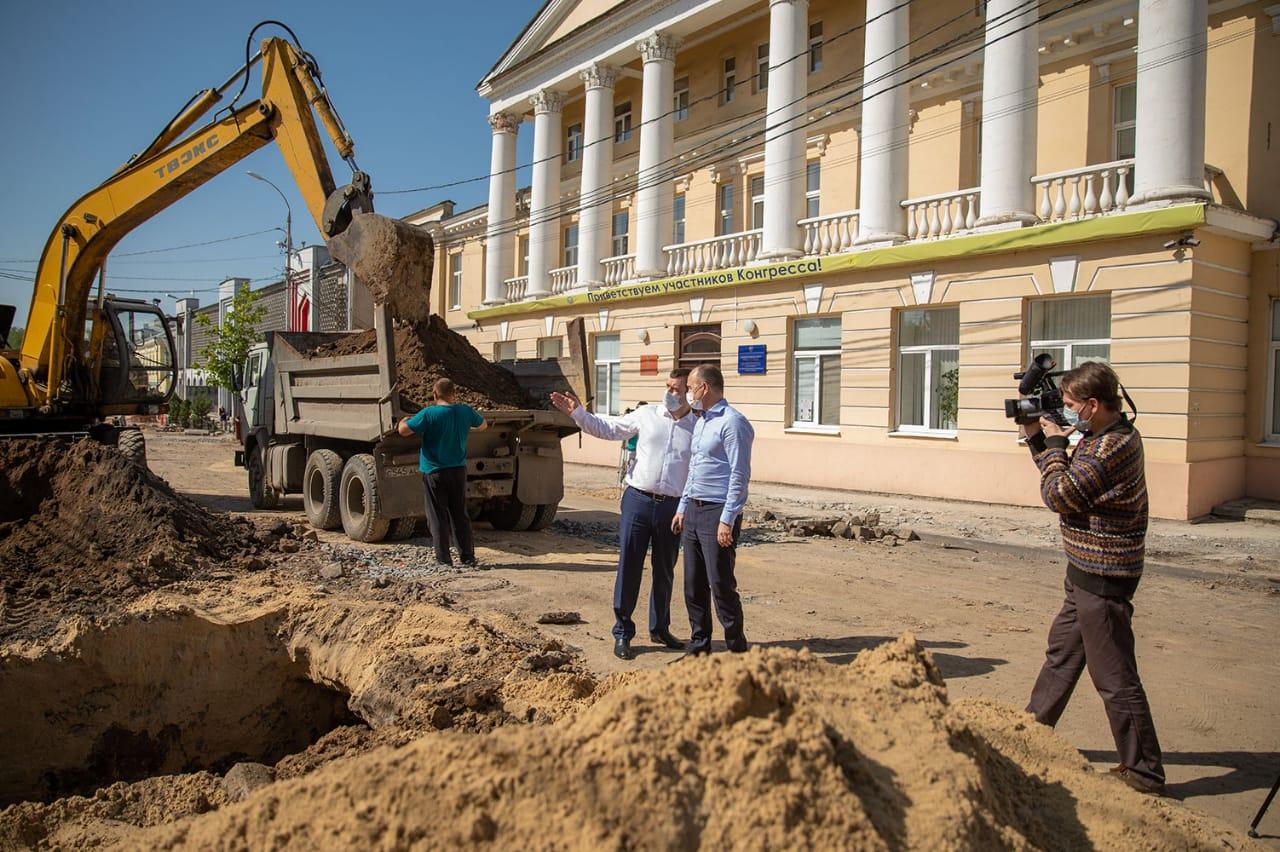 Таганрог посетил зам. губернатора – министр промышленности и энергетики Ростовской области Игорь Сорокин