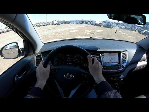 2016 Hyundai Tucson 1 6 T GDI 4WD 177 POV TEST DRIVE