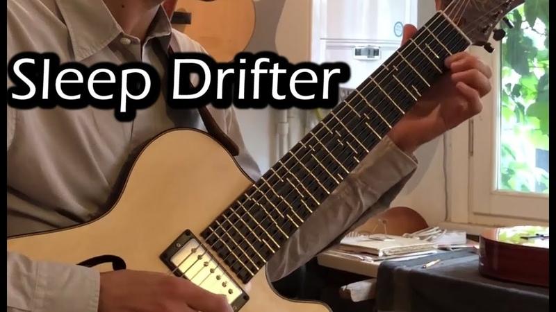 Sleep Drifter Electric Microtonal Guitar Cover