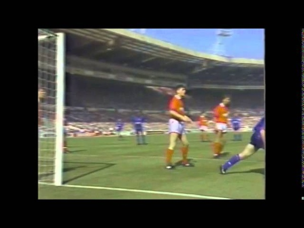 Nottingham Forest v Oldham Athletic League Cup Final 1990