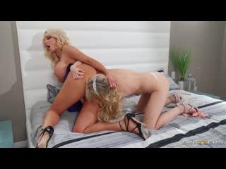 [Brazzers] Nicolette Shea & Scarlett Sage - Dress, Big Ass, Tattoo, Caucasian, Blonde, High Heels, Medium Skin, Big Tits