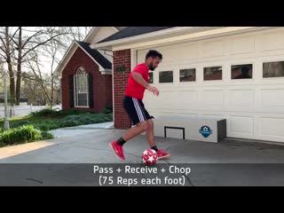 Stay at Home Passing Session - A Ball and a Wall