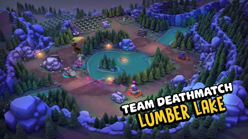 New Team Deathmatch map - Lumber Lake! | Pico Tanks