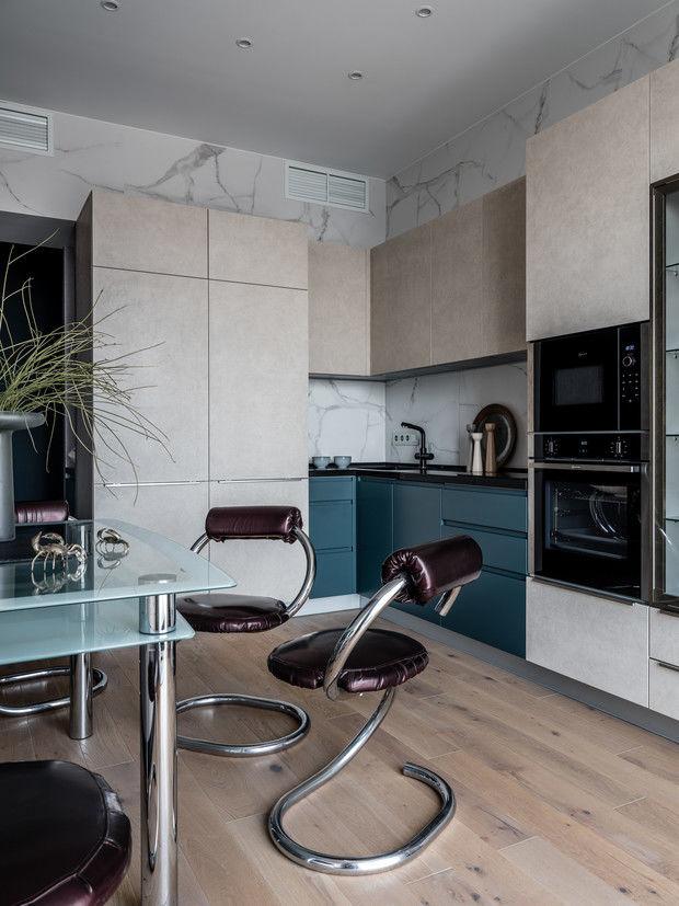 Оазис тишины: все оттенки балтийского побережья в квартире 66 м² от Елены Карасаевой    02