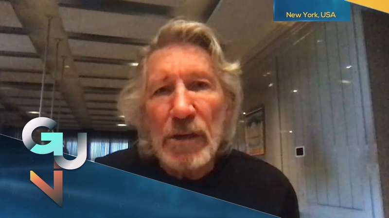 Pink Floyd Co Founder Roger Waters Trump Biden Are IMBECILES Threat of Nuclear War is Real