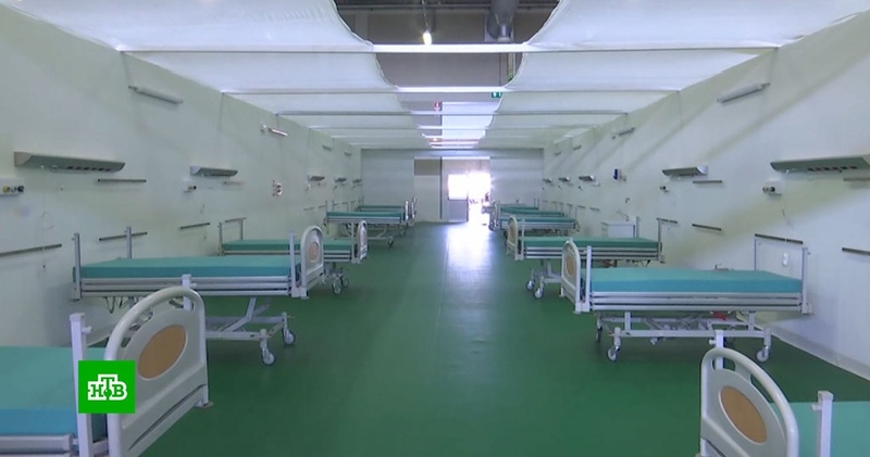 Российские военные начали оснащать полевой госпиталь в Бергамо
