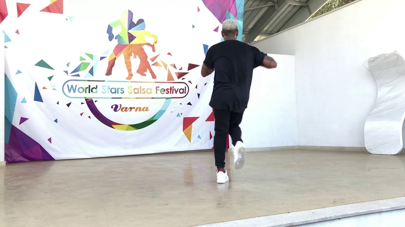 Yoandy Villaurrutia yoyoflow salsa new style workshop varna 2018