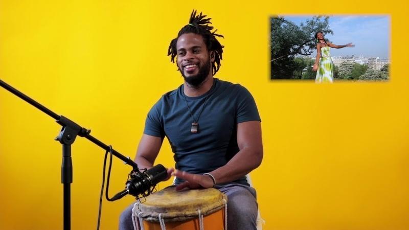 Fatoumata Bissa Haitian Drum fusion