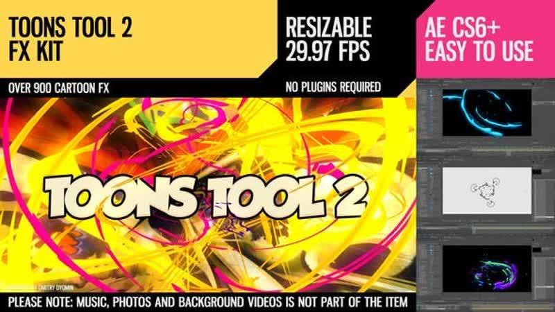 Toons Tool 2 FX Kit