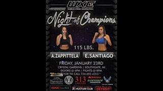 WXC 54 Night Of Champions 7 115 Alesha Zappittela Vs Elane Santiago