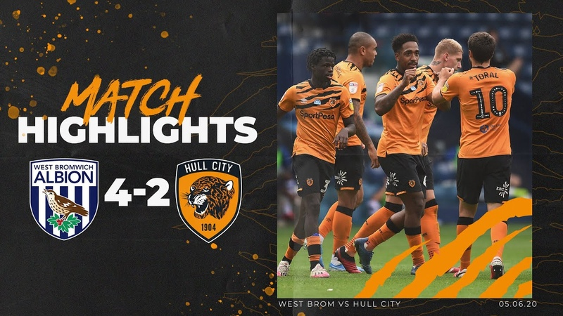 West Bromwich Albion 4 2 Hull City Highlights Sky Bet Championship