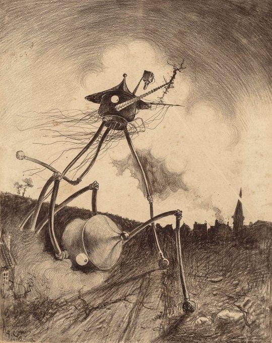 Иллюстрации бразильского художника Энрике Алвим Корреа