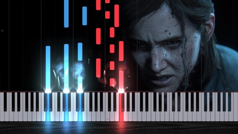 The Last of Us Part II - Main Theme [Piano Tutorial] Steffan Kaye