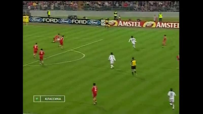 ЛЧ 2000-01 Полуфинал Бавария - Реал 2 тайм