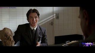 Доктор Крейн Испытывает Маску Пугало на Фальконе Бэтмен Начало Batman Begins 2005