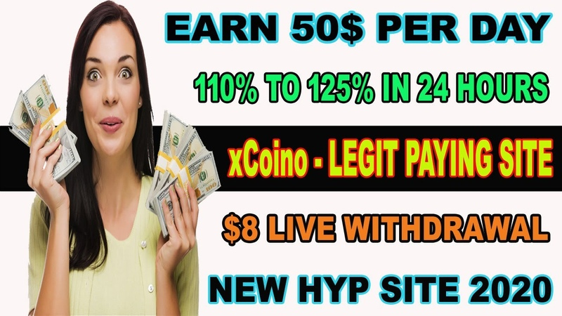 (xCoino) - Legit Earning site 2020   Earn 20$ Hourly   110 to 125 Profit live withdrawal