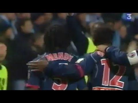 OM PSG 1 16 de Coupe de la Ligue 2004 2005 10 11 2004