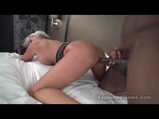 Exploited Moms - Sally D'Angelo (64yr) [Big Tits, Black, Blowjob