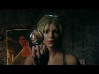 (Sound)Lara Croft in Trouble full version : solo masturbation [Tomb Raider;Porn;Horsecock Dildo;Blender;R34;Sex;порно;секс;соло]