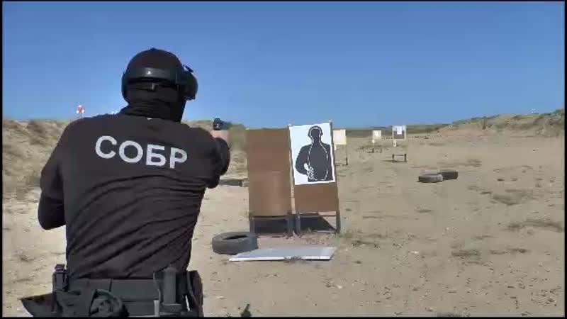 Сборы по тактической стрельбе сотрудников СОБР Ястреб 🦅💪