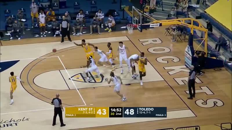 NCAAM 20210123 Kent State at Toledo