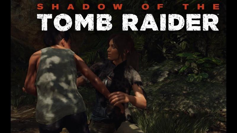 Shadow of the Tomb Raider первое прохождение и сразу сложный уровень на ПК в 4к часть 17