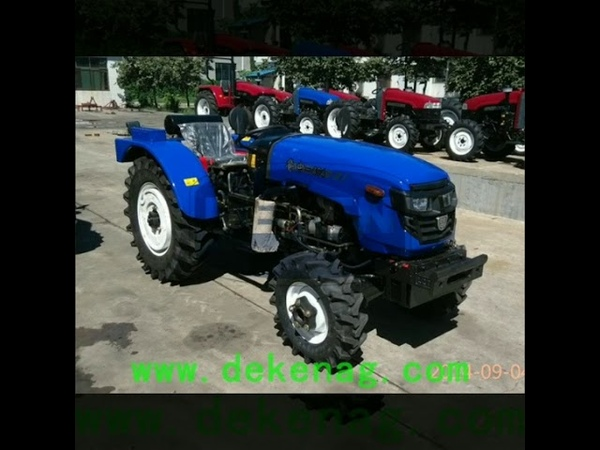 China produce luzhong40hp tractor farm tractor wheel tractor garden tractor with best price for sale
