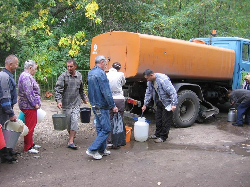 График подвоза воды в Таганроге на период с 21 по 24 сентября 2020 года