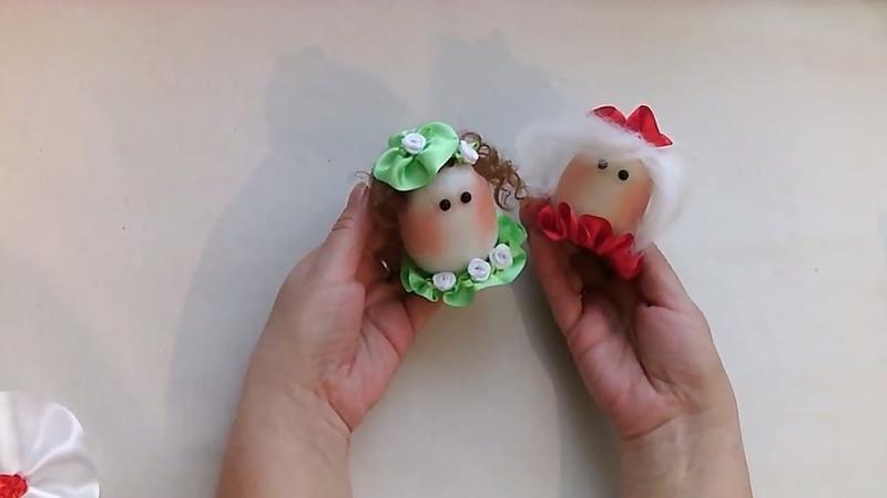 Пасхальное яйцо. Мастер-класс. Чулочная техника. MK Easter egg