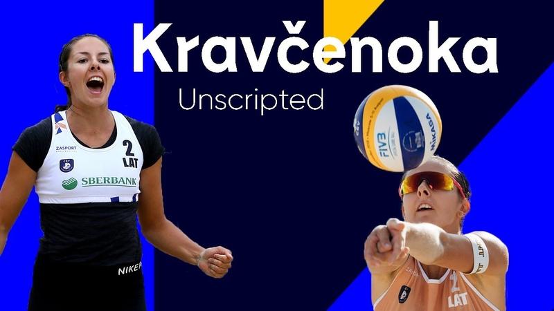 Queen of the Beach Anastasija Kravcenoka Unscripted