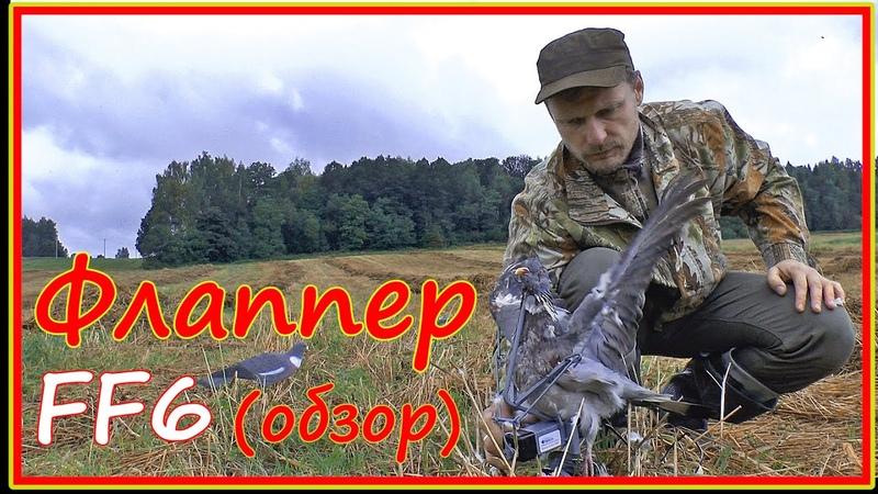 Как охотиться на вяхиря голубиный махокрыл Flapper ff6 обзор и применение на охоте Инструкция