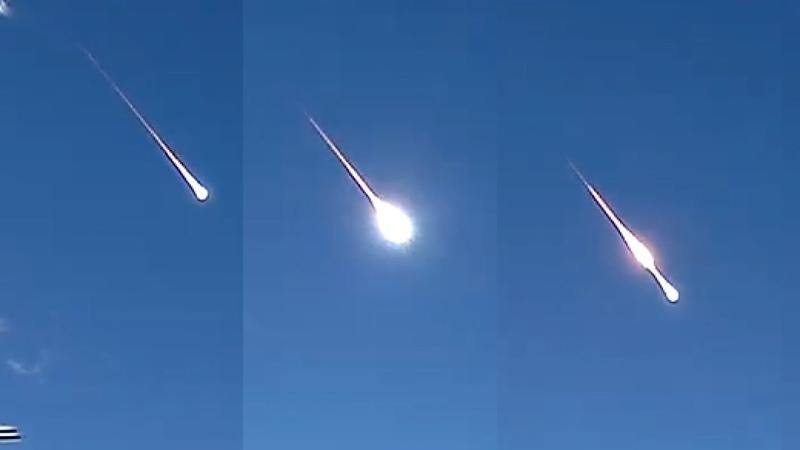 Immense Meteor Fireball Explosion Creates Shockwave Sets off Seismic Detectors