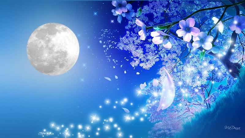 Николай Языков - Сияет яркая полночная луна (читает Максим Платонов)