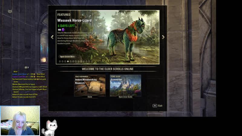 Немного БГ и данжи The Elder Scrolls Online