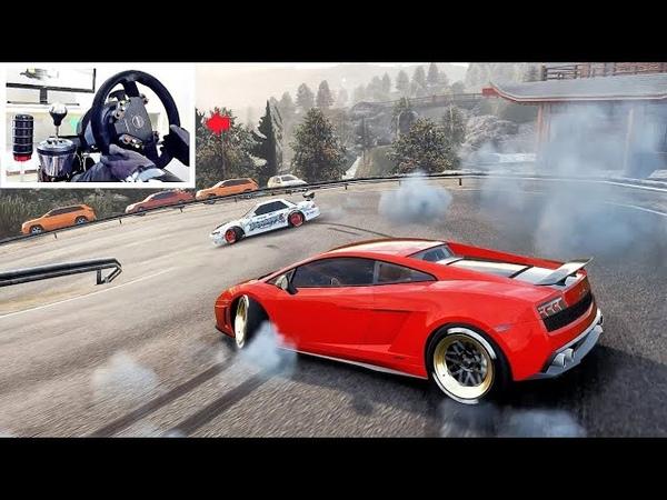 Lamborghini Gallardo Drift King! - Car X Drift Best Drift Setup | Loki 4m (w/Steering Wheel!)