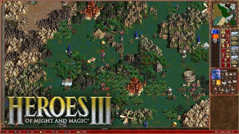 [18] Шон играет в Heroes of Might and Magic 3 - СТРИМ 4 (PC, 2000)