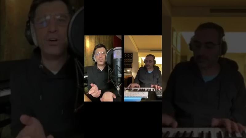 O Σάκης Ρουβάς τραγουδά τη διασκευή του Και σε θέλω με τον Δ.Κοντόπουλο