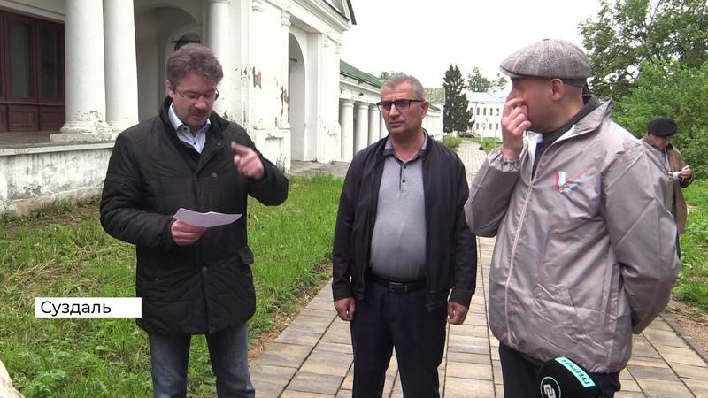 Власти Суздаля назвали новые сроки окончания благоустройства Зарядья 2020 06 04