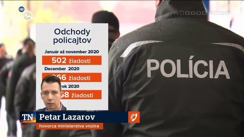 Policajný zbor opustí tento rok takmer 1500 policajtov   20.12.2020